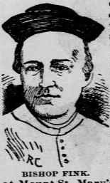 Bishop Louis Fink 1896