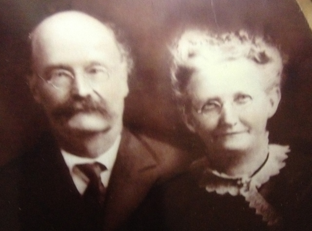 Joseph Otto Kuntz and Anna Maria Craft Kuntz sm